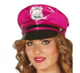 Gorra de Policía Sexy fucsia