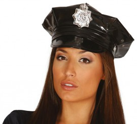 Gorra Policía de plato