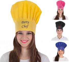 Gorro de Cocinero para adultos en 4 colores