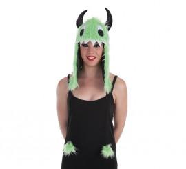 Gorro Monster Verde Grande