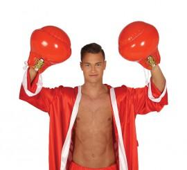Guantes Boxeo Rojos Hinchables