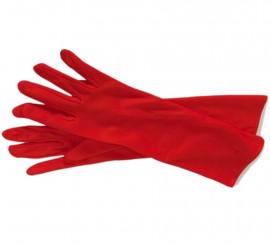 Guantes largos rojos de 37 cm. para Halloween