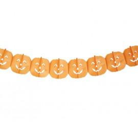 Guirnalda Calabazas para Halloween de 19 x 300  cm