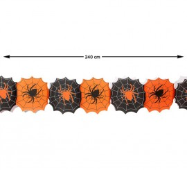 Guirnalda de Arañas 240 cm