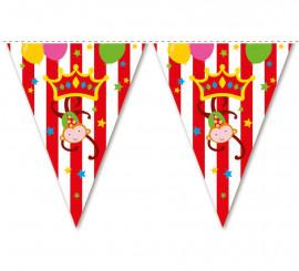 Guirnalda de Banderines Circo de 3,6 mts