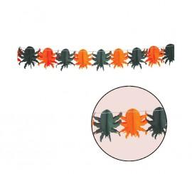 Guirnalda de fantasía con Arañas de 18 x 300 cm