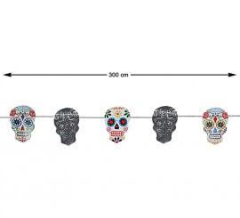 Guirnalda del Día de los Muertos 300 cm