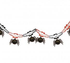 Guirnalda fantasía araña de 15x200 cm