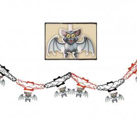 Guirnalda fantasía murciélago de 15x200 cm
