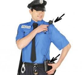 Intercomunicador de policía