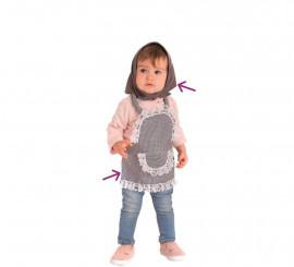 Kit de Castañera para bebé: Delantal y pañuelo