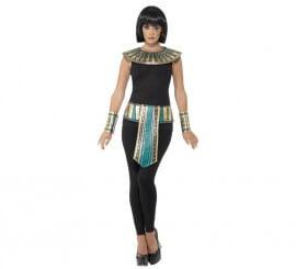 Kit de Egipcio adulto: Cuello, brazaletes y cinturón