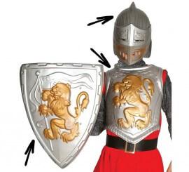 Kit de Guerrero medieval para niños