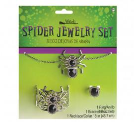 Kit de joyería con adornos de araña