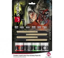 Kit de Látex líquido con 4 colores y aplicador de 29,5 ml