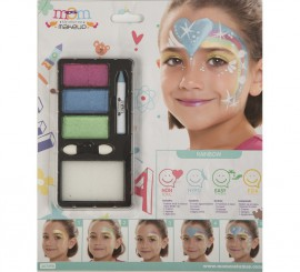 Kit de Maquillaje Brillante Arcoiris
