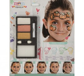 Kit de Maquillaje Brillante de Calabaza