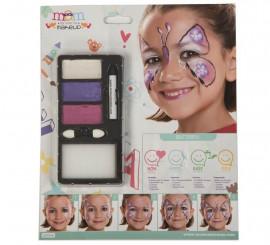 Kit de Maquillaje Brillante de Mariposa infantil