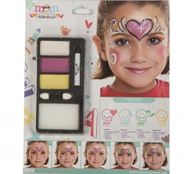 Kit de Maquillaje Brillante de Princesa