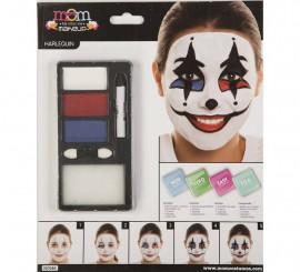 Kit de Maquillaje de Arlequín