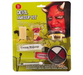 Kit de Maquillaje de Demonio para adultos