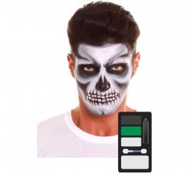 Kit de Maquillaje de Esqueleto