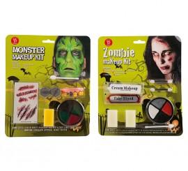 Kit de Maquillaje de Frankenstein para adultos