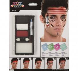 Kit de Maquillaje de Indio adulto