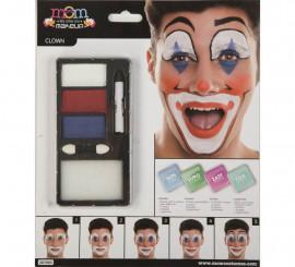 Kit de Maquillaje de Payaso adulto