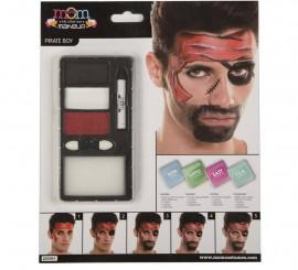 Kit de Maquillaje de Pirata hombre