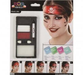 Kit de Maquillaje de Pirata mujer