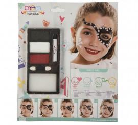 Kit de Maquillaje de Pirata niña