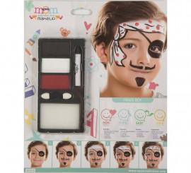 Kit de Maquillaje de Pirata niño
