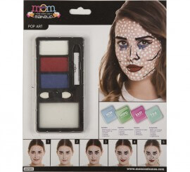 Kit de Maquillaje de Pop Art