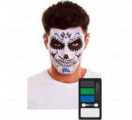 Pack de Maquillage Squelette Dia de los Muertos