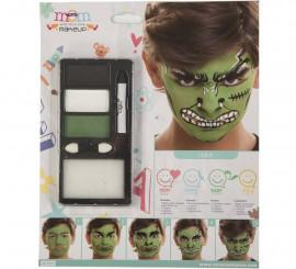 Kit de Maquillaje de Superhéroe verde