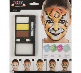 Kit de Maquillaje de Tigre adulto