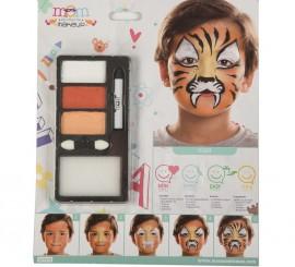 Kit de Maquillaje de Tigre infantil