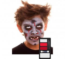 Kit de Maquillaje de Zombie