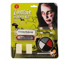 Kit de Maquillaje de Zombie para adultos