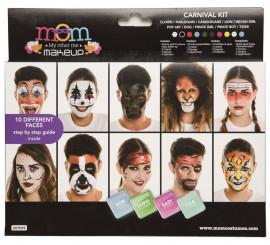 Kit de Maquillaje Deluxe Carnaval adultos
