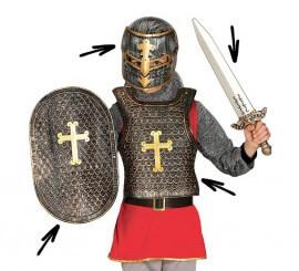 Kit de Soldado medieval para niños