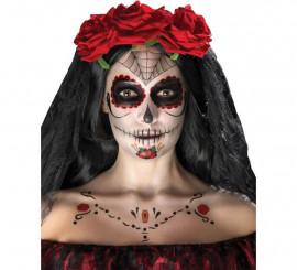 Kit de Tatuajes y Maquillaje de Catrina