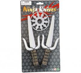 Kit Ninja: 2 cuchillos y 2 estrellas