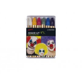 Lápices de Maquillaje para Carnaval 6 Colores