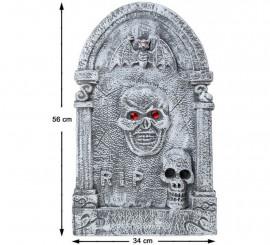 Lápida con Murciélago 56X34 cm