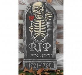 Lápida Rip con fecha (1721-1795) 32X65 Cm