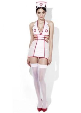 Lencería Sexy de Enfermera Picardías para mujer