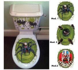 Letrero para WC de decoración modelos surtidos