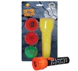 Linterna con dibujos para Halloween 18 cm